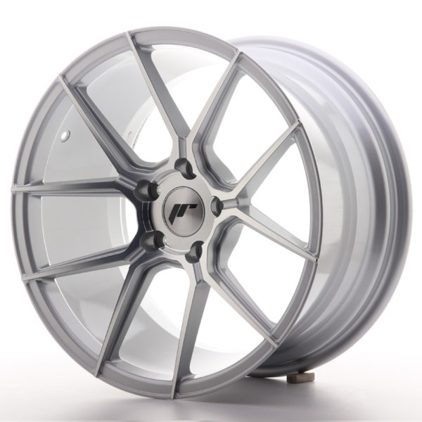 JR Wheels JR30 18x9,5 ET35 5x120 Silver Machined Face