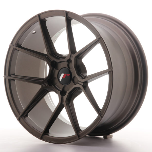 JR Wheels JR30 18x9,5 ET20-40 5H BLANK Matt Bronze