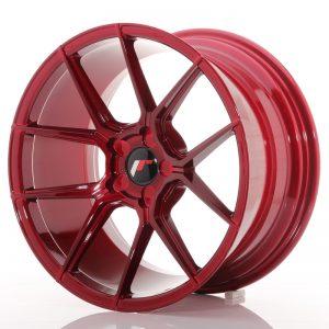 JR Wheels JR30 18x9,5 ET20-40 5H BLANK Platinum Red