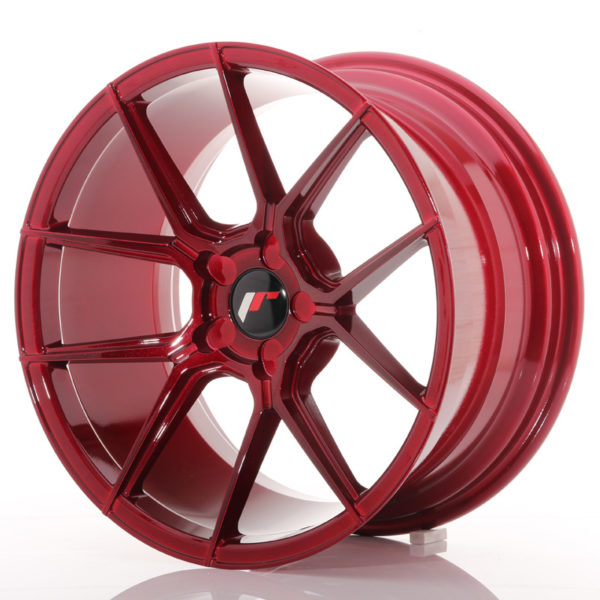 JR Wheels JR30 18x9,5 ET20-40 5H BLANK Platinum Red