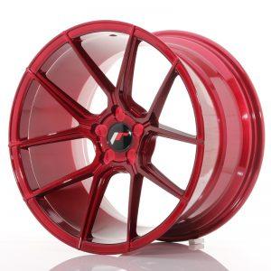 JR Wheels JR30 19x11 ET15-40 5H BLANK Platinum Red