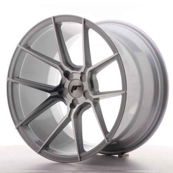 JR Wheels JR30 19x11 ET15-40 5H BLANK Silver Machined Face