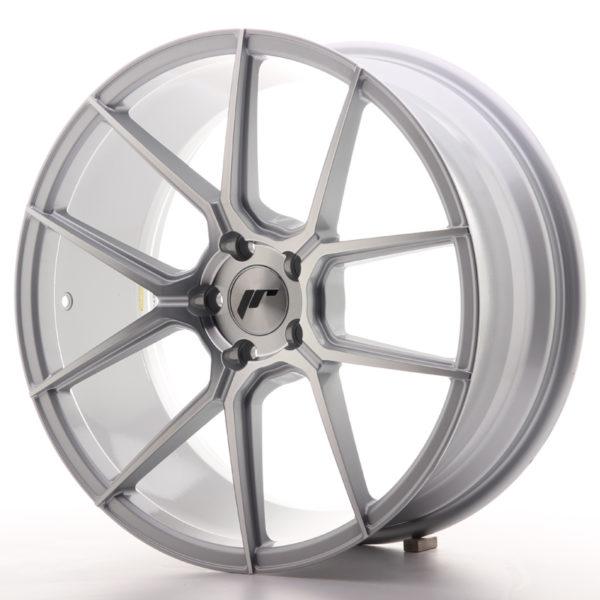 JR Wheels JR30 19x8,5 ET40 5x112 Silver Machined Face