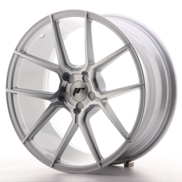 JR Wheels JR30 19x8,5 ET35-43 5H BLANK Silver Machined Face