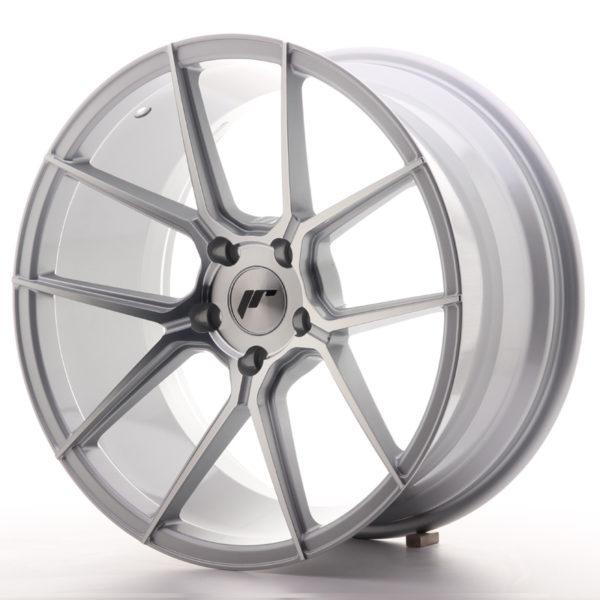 JR Wheels JR30 19x9,5 ET35 5x120 Silver Machined Face
