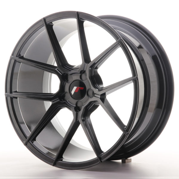 JR Wheels JR30 19x9,5 ET20-40 5H BLANK Hyper Black