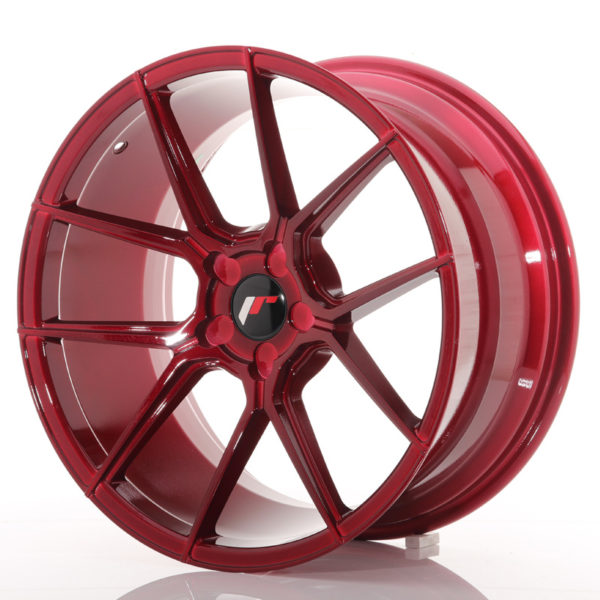 JR Wheels JR30 19x9,5 ET20-40 5H BLANK Platinum Red