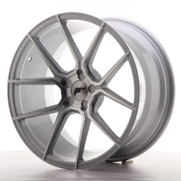 JR Wheels JR30 19x9,5 ET20-40 5H BLANK Silver Machined Face