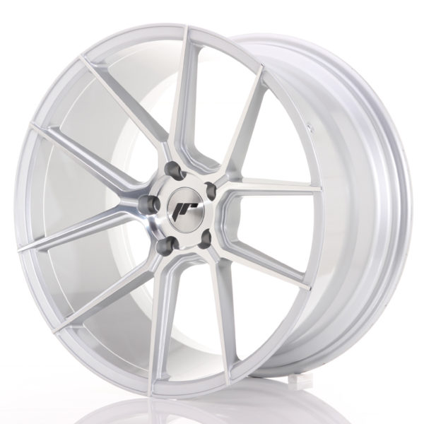 JR Wheels JR30 20x10 ET30 5x120 Silver Machined Face