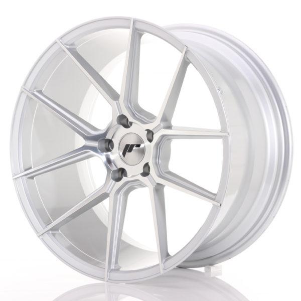 JR Wheels JR30 20x10 ET40 5x112 Silver Machined Face