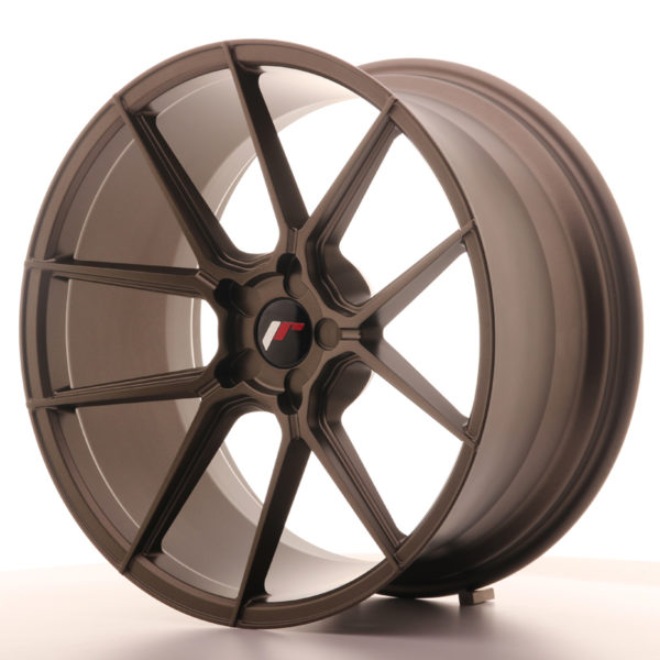 JR Wheels JR30 20x10 ET20-40 5H BLANK Matt Bronze