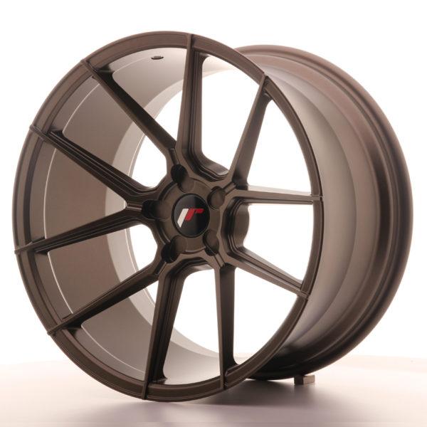 JR Wheels JR30 20x11 ET20-30 5H BLANK Matt Bronze