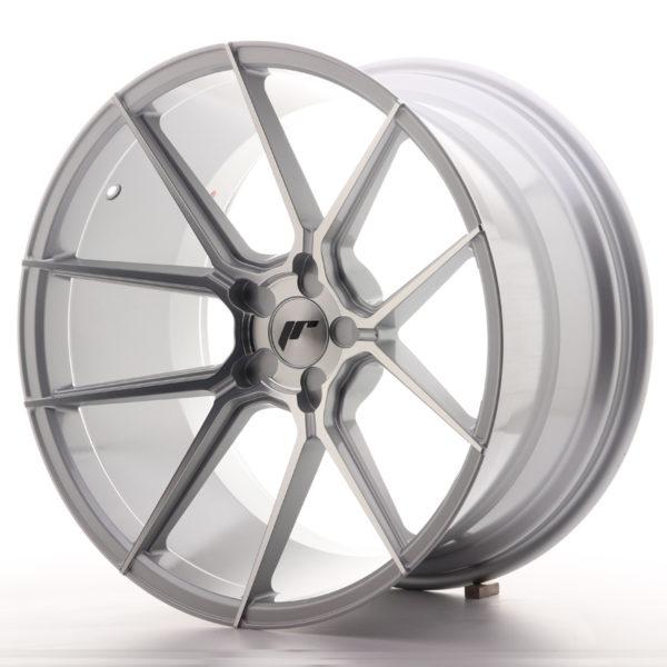 JR Wheels JR30 20x11 ET20-30 5H BLANK Silver Machined Face