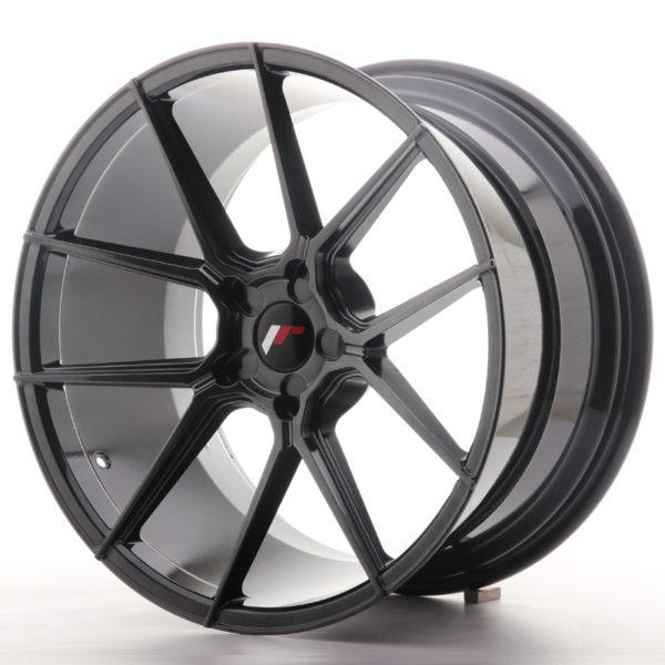 JR Wheels JR30 20x11 ET30-50 5H BLANK Hyper Black