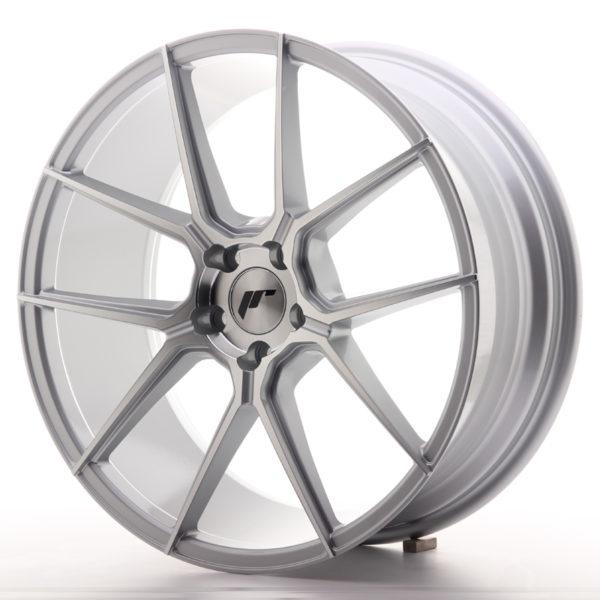 JR Wheels JR30 20x8,5 ET30 5x120 Silver Machined Face