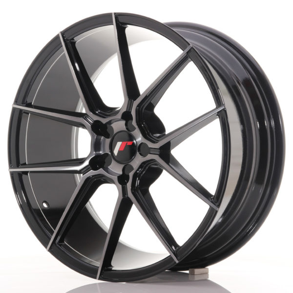 JR Wheels JR30 20x8,5 ET20-42 5H BLANK Black Brushed w/Tinted Face