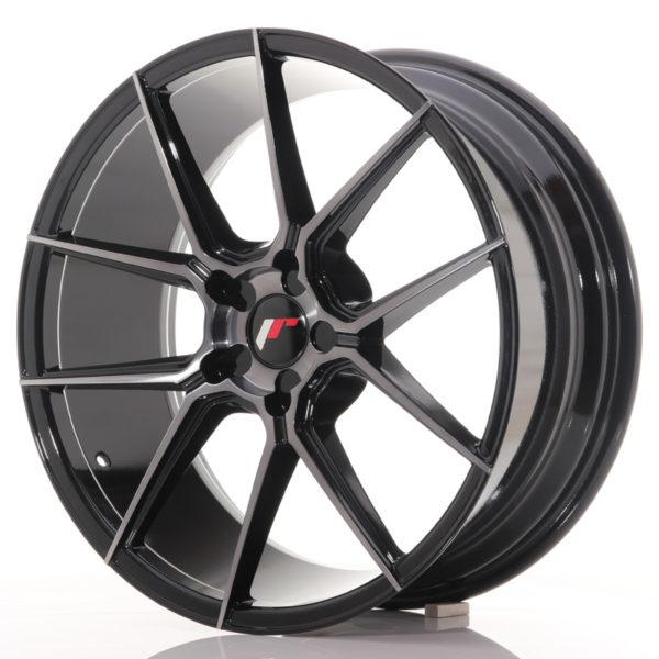 JR Wheels JR30 20x8,5 ET20-42 5H BLANK Black Brushed w/Tinted Face