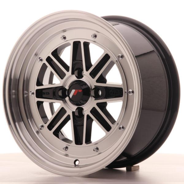 JR Wheels JR31 15x7.5 ET20 4x100 Gloss Black Machined Face