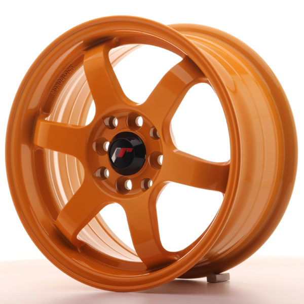 JR Wheels JR3 15x7 ET40 4x100/114 Orange