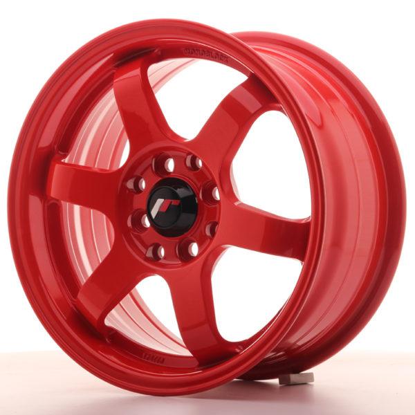 JR Wheels JR3 15x7 ET40 4x100/114 Red