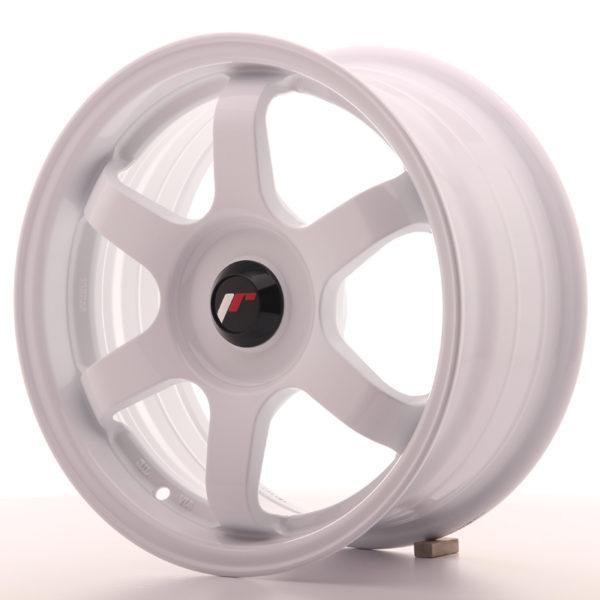 JR Wheels JR3 15x7 ET35-42 BLANK White