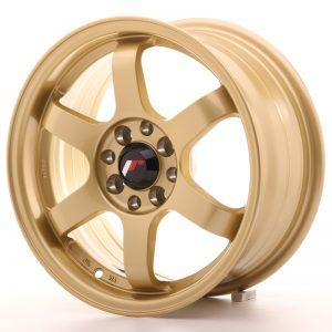 JR Wheels JR3 15x7 ET25 4x100/108 Gold