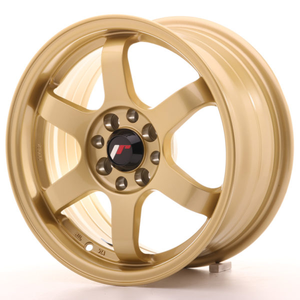 JR Wheels JR3 15x7 ET25 4x100/108 Gold