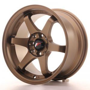 JR Wheels JR3 15x8 ET25 4x100/114 Anodized Bronze