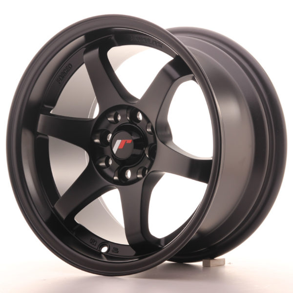 JR Wheels JR3 15x8 ET25 4x100/114 Matt Black