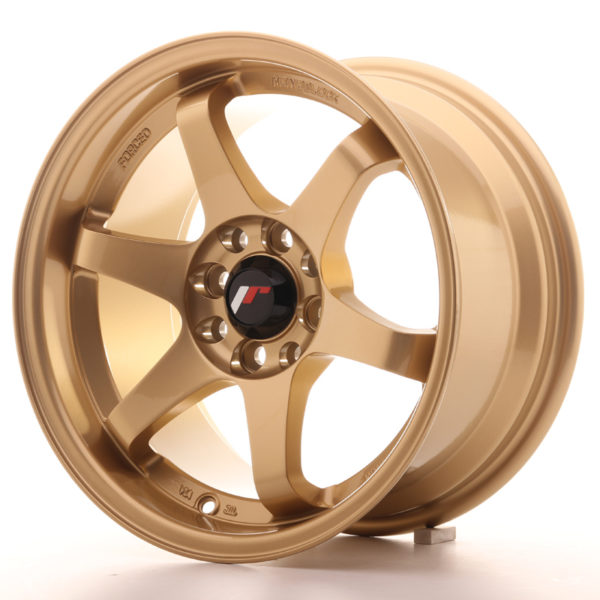 JR Wheels JR3 15x8 ET25 4x100/114 Gold