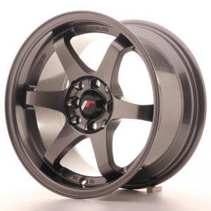 JR Wheels JR3 15x8 ET25 4x100/114 Gun Metal