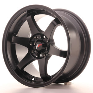 JR Wheels JR3 15x8 ET25 4x100/108 Matt Black