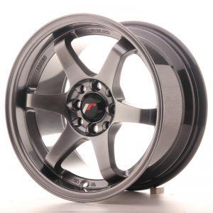 JR Wheels JR3 15x8 ET25 4x100/108 Hyper Black
