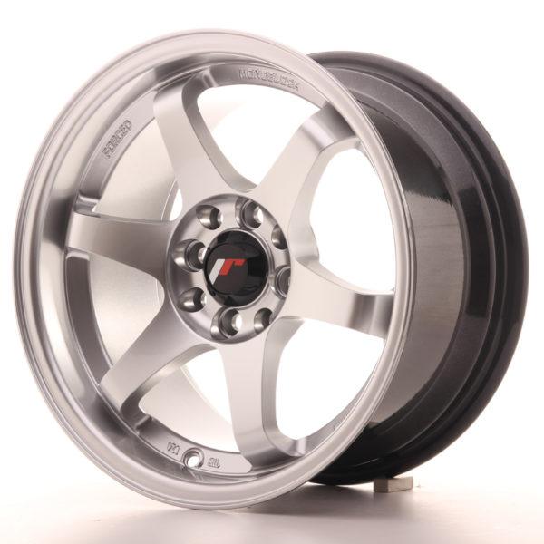 JR Wheels JR3 15x8 ET25 4x100/108 Hyper Silver
