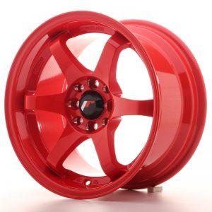 JR Wheels JR3 15x8 ET25 4x100/108 Red