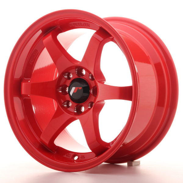 JR Wheels JR3 15x8 ET25 4x100/108 Red