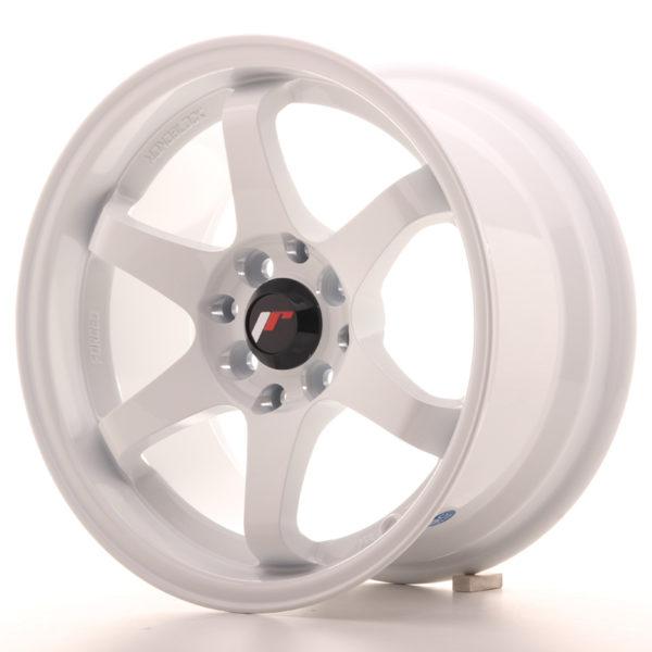 JR Wheels JR3 15x8 ET25 4x100/108 White