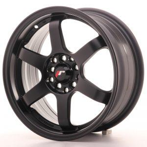 JR Wheels JR3 16x7 ET40 4x100/114 Matt Black