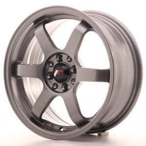 JR Wheels JR3 16x7 ET40 4x100/114 Gun Metal
