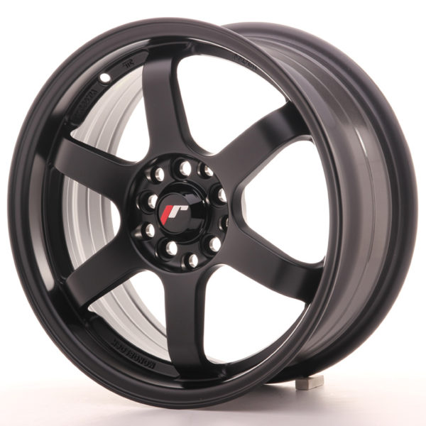 JR Wheels JR3 16x7 ET40 5x100/108 Matt Black