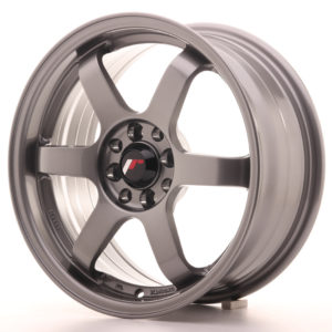 JR Wheels JR3 16x7 ET40 5x100/108 Gun Metal