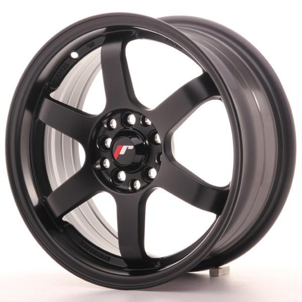 JR Wheels JR3 16x7 ET25 4x100/108 Matt Black