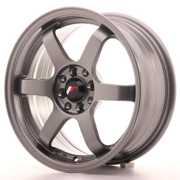 JR Wheels JR3 16x7 ET25 4x100/108 Gun Metal