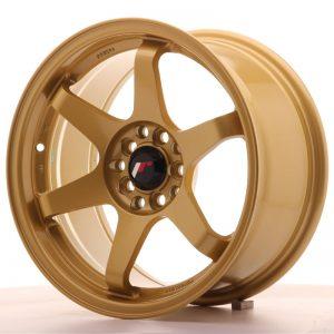 JR Wheels JR3 16x8 ET25 4x100/108 Gold