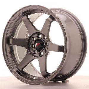JR Wheels JR3 16x8 ET25 4x100/108 Gun Metal