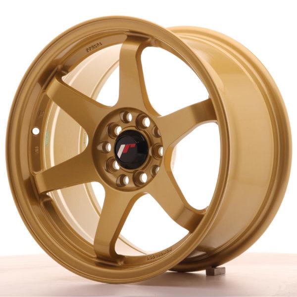 JR Wheels JR3 16x8 ET25 5x100/114,3 Gold