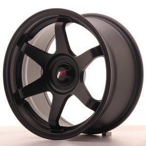 JR Wheels JR3 16x8 ET25 BLANK Matt Black