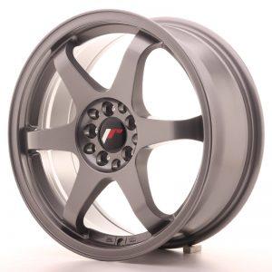 JR Wheels JR3 17x7 ET40 4x100/114 Gun Metal