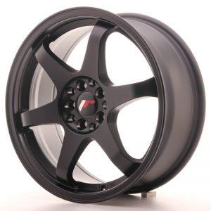 JR Wheels JR3 17x7 ET40 5x108/112 Matt Black