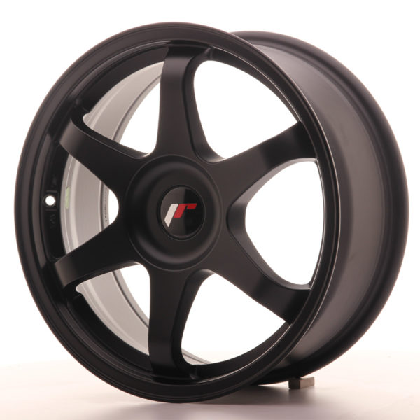 JR Wheels JR3 17x7 ET35-42 BLANK Matt Black